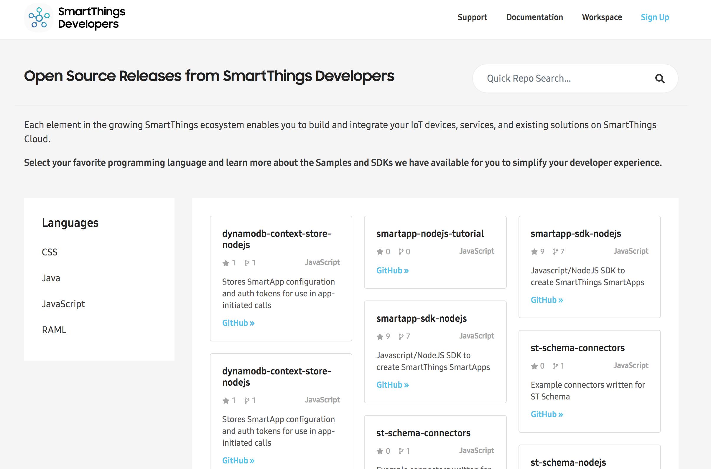 SmartThings Developers   Blog